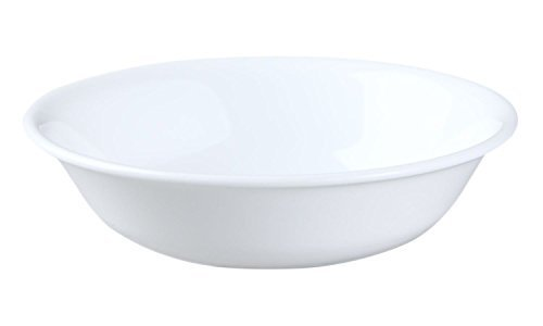 (Corelle Winter Frost White Dessert Bowls, 10 Oz (Pack of 3) by Corelle Coordinates )