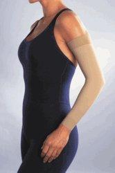 Women's 20-30 mmHg Arm Sleeve Size: Medium, Color: Black by Jobst by JOBST