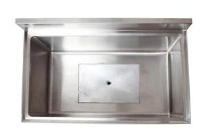 18'' x 24'' Ice Chest with Cold Plate and Sliding Cover by Sani-Safe