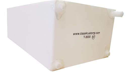 Class A Customs Spouted 30 Gallon Water Holding Tank T-3000-SP ()