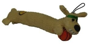 Loofa Dog 12″ Basketball Plush Dog Toy, My Pet Supplies