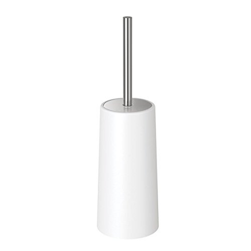 Toilet Brush and Holder,Strong Bristles Good Grips Hideaway Compact Long Brush and Heavy Enough for Bathroom Toilet,Easy Storage Toilet Brush(White) by GDORUN