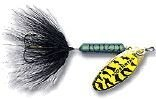 Wordens Sonic Rooster Tail Lure, 1/8-Ounce, White ()