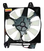 TYC 610810 Mitsubishi//Chrysler Replacement Condenser Cooling Fan Assembly