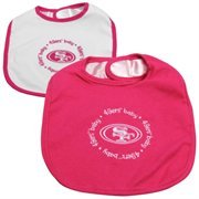 Baby Fanatic Bibs Pink, New England Patriots ()