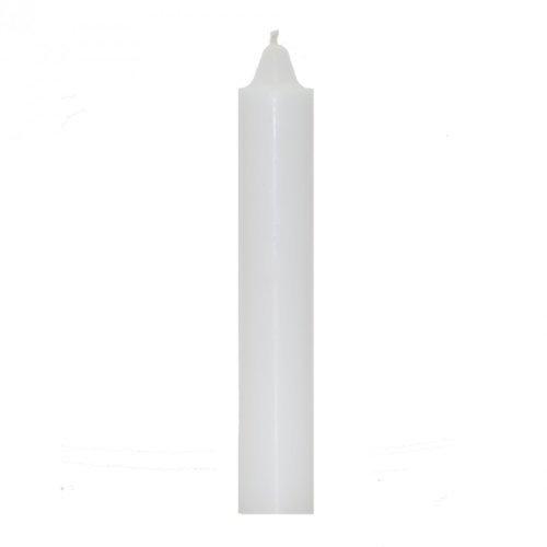 White Jumbo Candle ~ 9