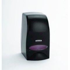 "Kimberly Clark Professional Manual Cassette Skin Care Dispenser (92145), 1 L Capacity, 4.85"" x 8.36"" x 5.43"", Black, 1/Case"