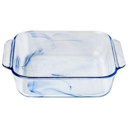 Pyrex Watercolor Collection Blue Lagoon 2-qt Square Baking Dish ...