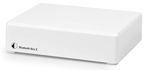 Pro-Ject Wireless Audio System Adapter,White (Box - Bluetooth Box E White)