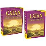 Catan: Traders & Barbarians (5th Edition) with Catan: Traders & Barbarians 5-6 Player Extension 5th Edition