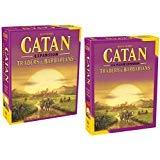 Catan: Traders & Barbarians (5th Edition) with Catan: Traders & Barbarians 5-6 Player Extension 5th Edition by Catan Studios Inc. (Image #1)