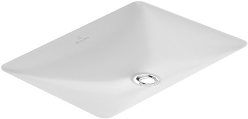 - Undercounter washbasin, 17 3/4'' x 11'', rectangular