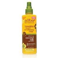 Alba Botanica Hawaiian Drink It Up Coconut Milk Leave In Conditioning Mist, 8 oz