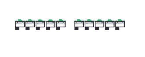 10/Pack 26 Color ink cartridges for Lexmark Compatible with: Color Jet Printer Z34 Z35 Z515 Z2600 Color Jet Printer i3 Z13 Z23 Z24 Z25 Printrio X1155 X1160 X1170 X1180 X1190 (Z13 Jet Printer)