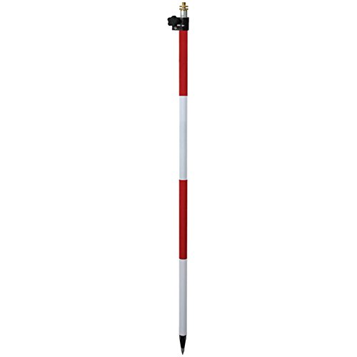 SECO 8.6' foot TLV PRISM POLE FOR SURVEYING TOTAL STATION...