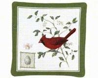 Display Stake Feeder (Cardinal Single Mug Mat)