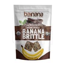 Barnana Organic Chocolate Banana Brittle, 3.5 Ounce - 10 per case.