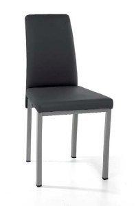 Naber Belga 1. Stuhl. Gestell edelstahlfarbig, edelstahlfarbig, edelstahlfarbig, anthrazit B004WPI4IY | Konzentrieren Sie sich auf das Babyleben  eeb649