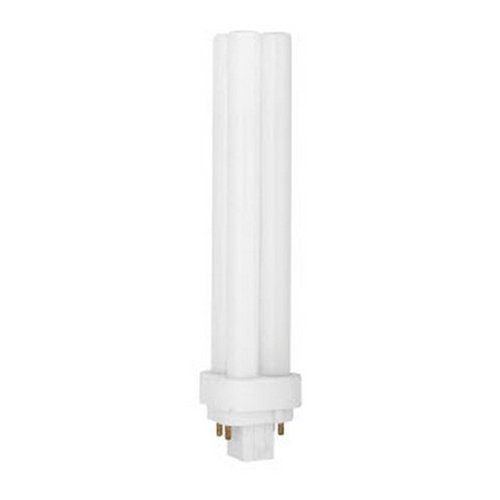 TCP 32426Q35K 26W 120V 3500K 1780 Lumens Non-Dimmable Indoor/Outdoor CFL Quad PL (Pack of 12)