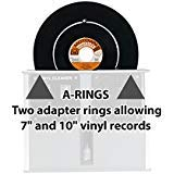 Set of A-rings for the Audio Desk Systeme Vinyl, Record, Album, LP Cleaning Machine