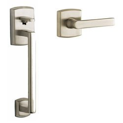 Baldwin 85386150ACLH Satin Nickel Soho Sectional Entry Left Handed Handle