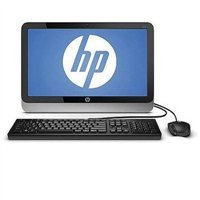 HP 19-2113w 19.5-Inch All-in-one Desktop (Intel Celeron J1800 Processor 4GB RAM, 500GB HD, Wifi, DVD/RW, Webcam, Microphone Windows 8.1), Black / Silver