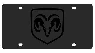 Eurosport Daytona- Compatible with -, Dodge Ram Logo on Carbon Steel License -