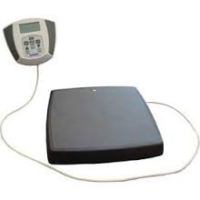 Health o meter 752KL Portable Digital Scale w/ Serial Port, 600 lb Capacity, 0.2 lb Resolution by Health o meter