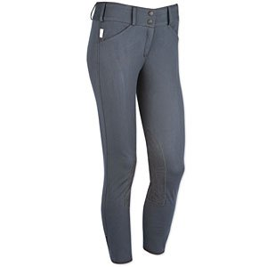 Tailored Sportsman Ladies Trophy Hunter Low Rise Front Zip Breech (Blue Dolph.