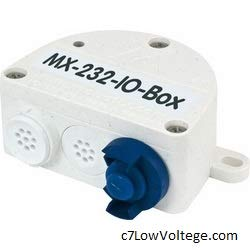 Mobotix MX-OPT-RS1-EXT MX-232-IO-Box: Weatherproof Connection of External Sensors and Switching of External Devices via MOBOTIX Cameras