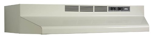 Broan F403002 Two-Speed Four-Way Convertible Range Hood, 30-Inch, Bisque