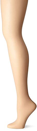 L'eggs Sheer Energy Control Top, Reinforced Toe Pantyhose 6-Pack