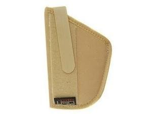 Uncle Mike's Off-Duty and Concealment Neutral Nylon Body Armour Holster (Size 2, Light Brown)