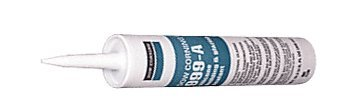 White Dow Corning 999A Silicone Glazing Sealant - 12 Tubes (Case) by Corning