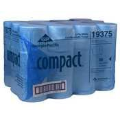 GPC19375 - Georgia-PacificCompactreg;WhiteCoreless 2-Ply Bathroom Tissue