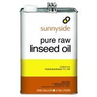 SUNNYSIDE CORPORATION 873G1 1-Gallon  Raw Linseed Oil