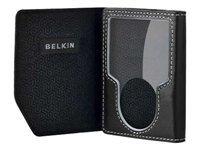 Belkin F8Z267 Leather Folio for iPod Nano 3rd Generation -Video (Black)
