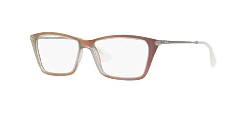 Ray-Ban Women's RX7022 Eyeglasses Iridescent Red 54mm ()