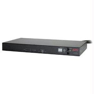 Rack Mountable Automatic Transfer Switch - APC Automatic Transfer Switch - Redundant switch ( rack-mountable ) - AC 208 V - Ethernet 10/100, RS-232 - 9 output connector(s) - 1U - for P/N: SUA3000RMT2U-TU, SUA5000RMT5U-TU, SURT3000XLTW, SURTD30