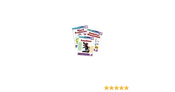 Kumon Grade 6 Math workbooks (3 books) - Fraction, Geometry ...