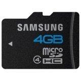 Samsung MB-MS4GA/US 4 GB Class 4 microSDHC Flash Memory Card