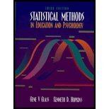 Statistical Methods in Education and Psychology - Textbook Only