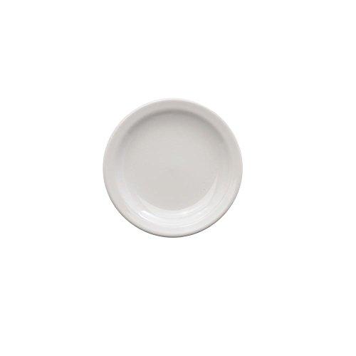Homer Laughlin Dessert - Homer Laughlin Arctic White China Dessert Plate - 7 1/4