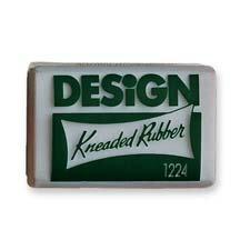 Prismacolor Eraser, Kneaded Rubber Eraser Large, Grey, 12 Pack