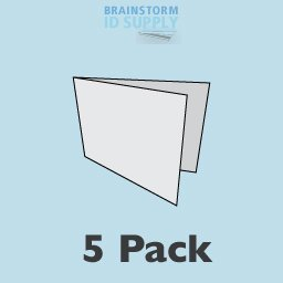 Letter Size Lamination Carrier - 5 Pack by Brainstorm ID