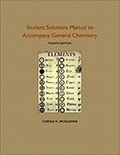 Mcquarrie solutions manual ebook array student solutions manual to accompany general chemistry rsc carole rh amazon com fandeluxe Choice Image