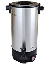 Cafe Amoroso 45 Cup Stainless Steel Commercial Electric Coffee Maker Urn by Cafe Amoroso (Image #1)