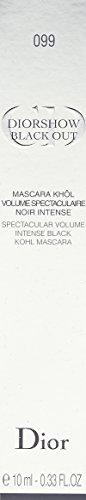 Christian Dior Black Out Mascara, 099 Kohl Black, 0.33 Ounce