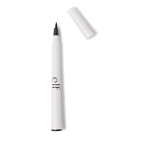 e.l.f. Waterproof Eyeliner Pen, Black, 0.06 Ounce