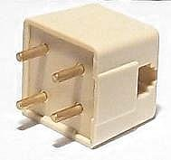 (Telephone 4 Prong Plug to Modular Adapter RJ-11 for Standard Vintage or Rotary)